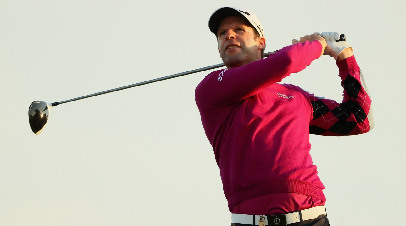 Bradley Dredge of Wales is a two-time winner on the European Tour.