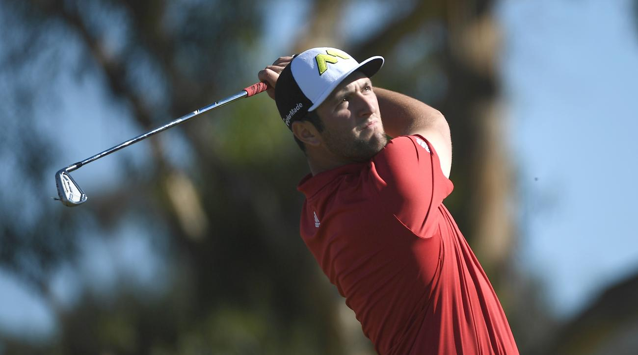 Jon Rahm had TaylorMade clubs in his bag for his first PGA Tour victory.
