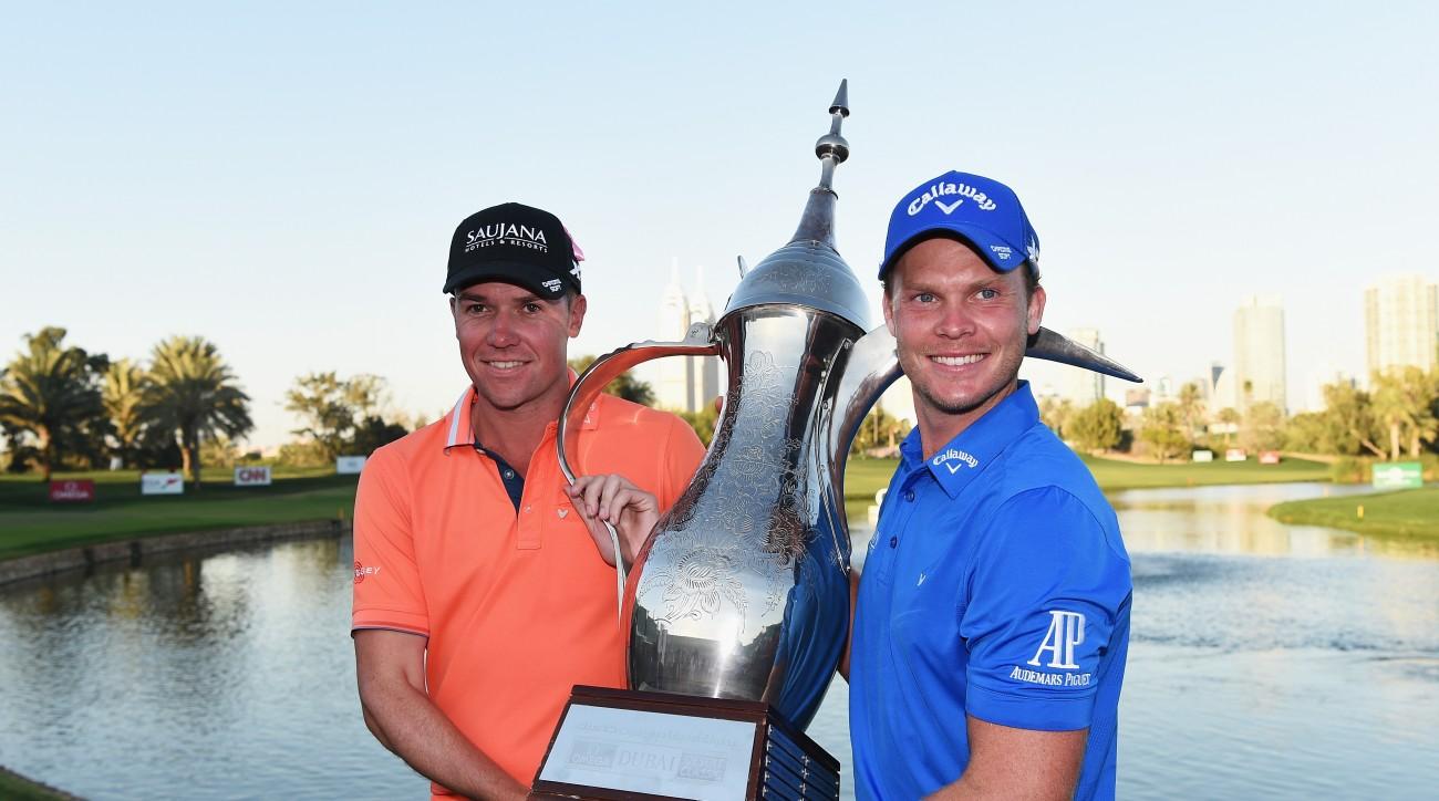 Danny Willett is the defending champion at the Omega Dubai Desert Classic.