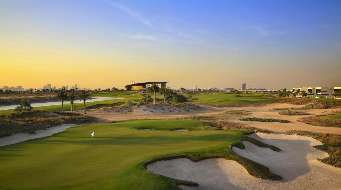 Trump Dubai's par-3 17th has made an impression on several early visitors.