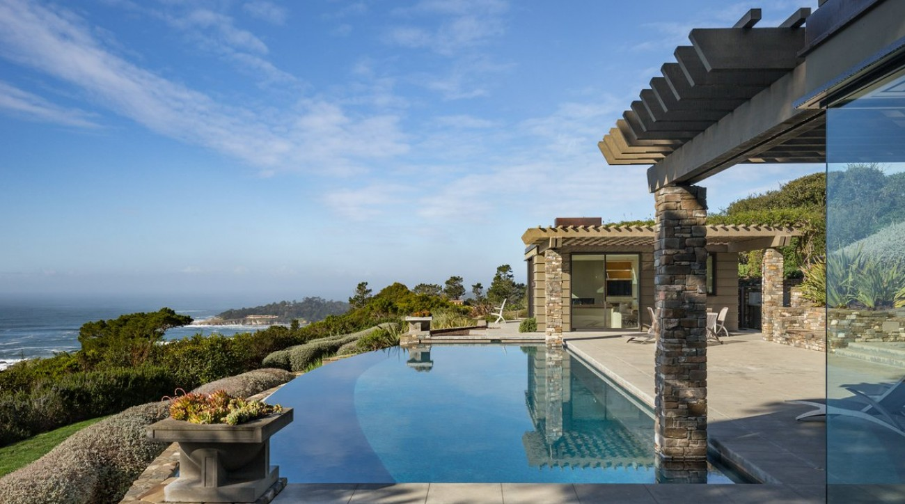 This stunning Pebble Beach home is a golfer's dream.