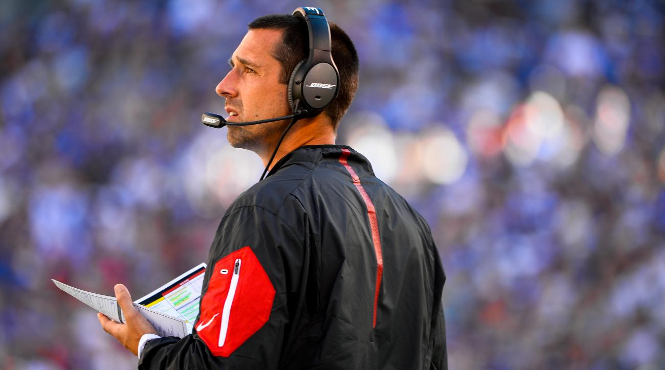 Kyle Shanahan takes 49ers head-coach job now that Falcons out