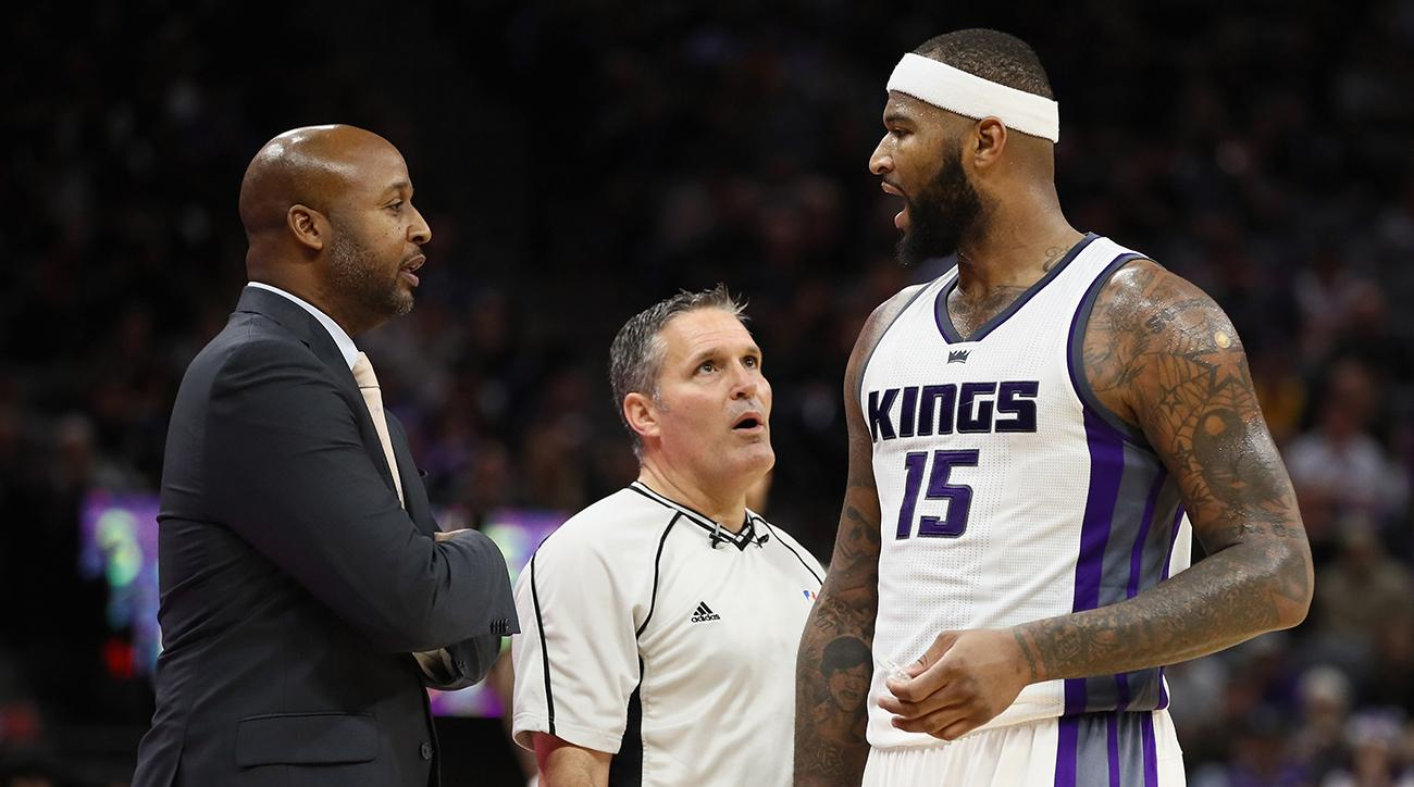 DeMarcus Cousins already has 16 technical fouls - before the all-star break
