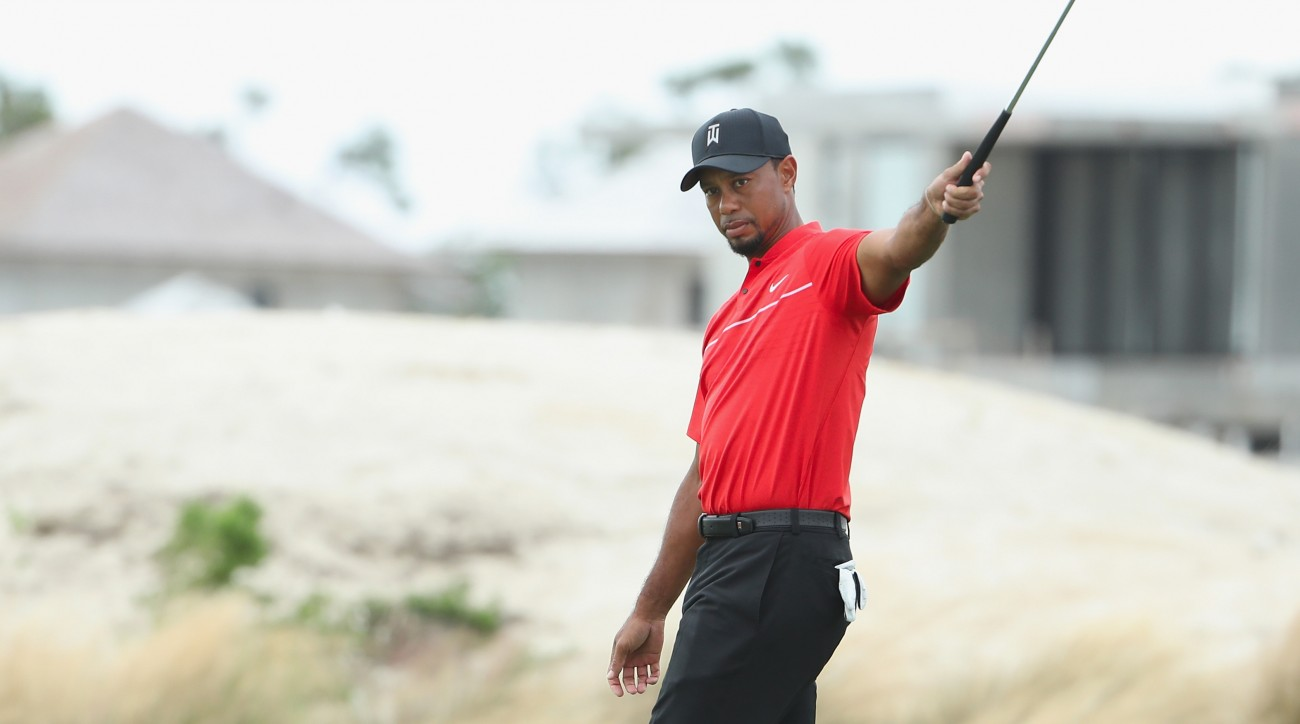 Tiger Woods first returned from multiple back surgeries at the Hero World Challenge in December.