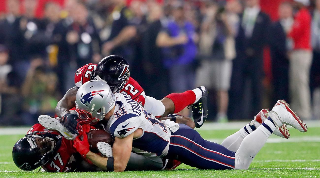 Julian Edelman catch: Mic'd up during his incredible Super ...