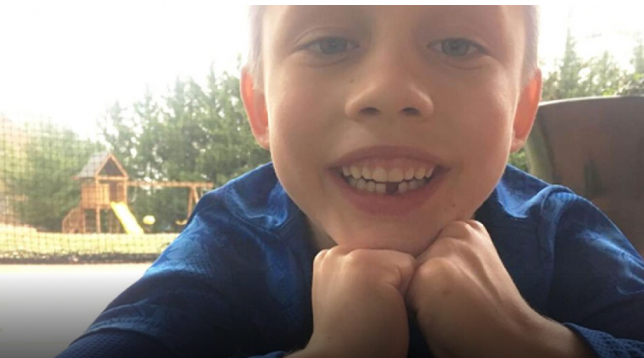 Maxton Price used his golf swing to assist in pulling out a tooth.