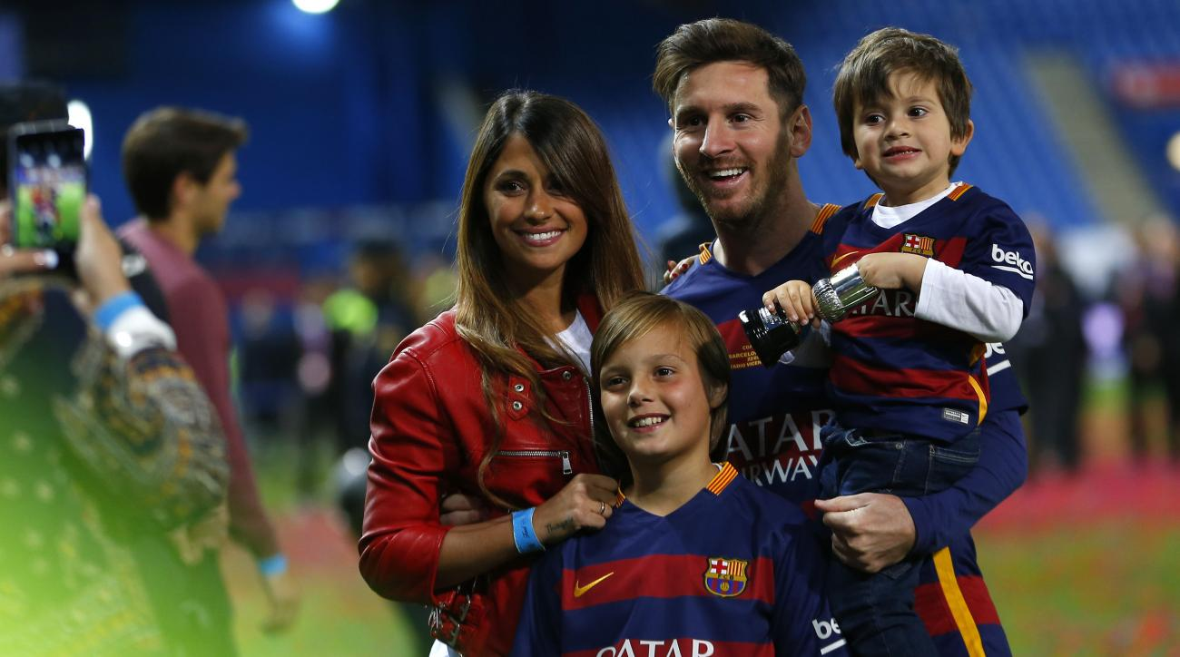 Lionel Messi bought his neighbors' home because their noise was bothering his family.