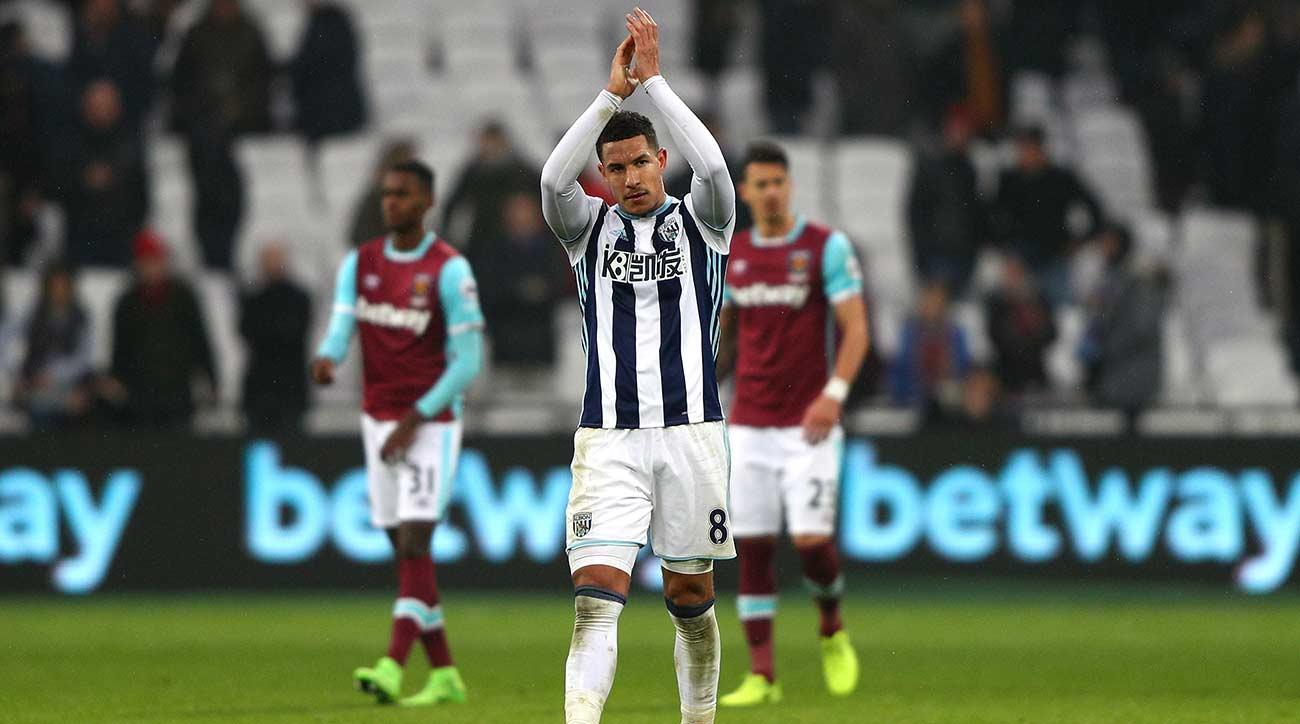 West Ham United 2-2 West Bromwich Albion