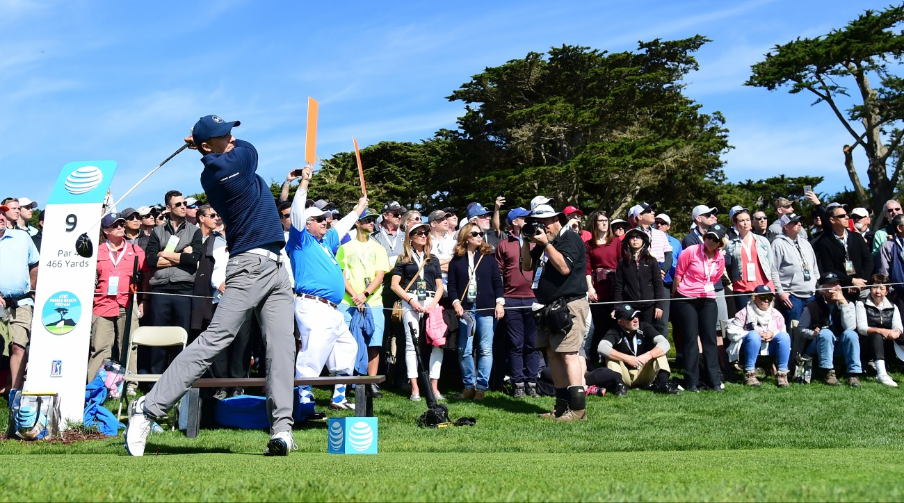 Jordan Spieth picked up PGA Tour victory No. 9 on Sunday at Pebble Beach Golf Links.