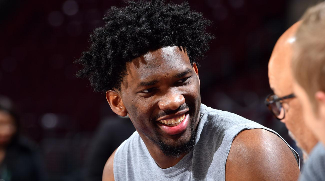 Bryan Colangelo: Joel Embiid Has 'Very Minor Tear' in Left Knee