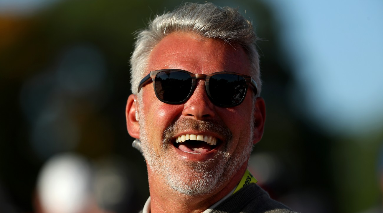 Darren Clarke has won three titles on the PGA Tour and 14 on the European Tour.