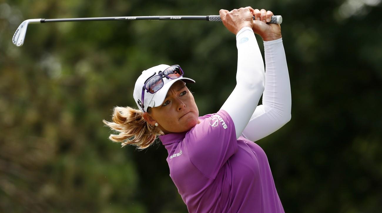 Kathrine Kirk has won twice on the LPGA Tour.