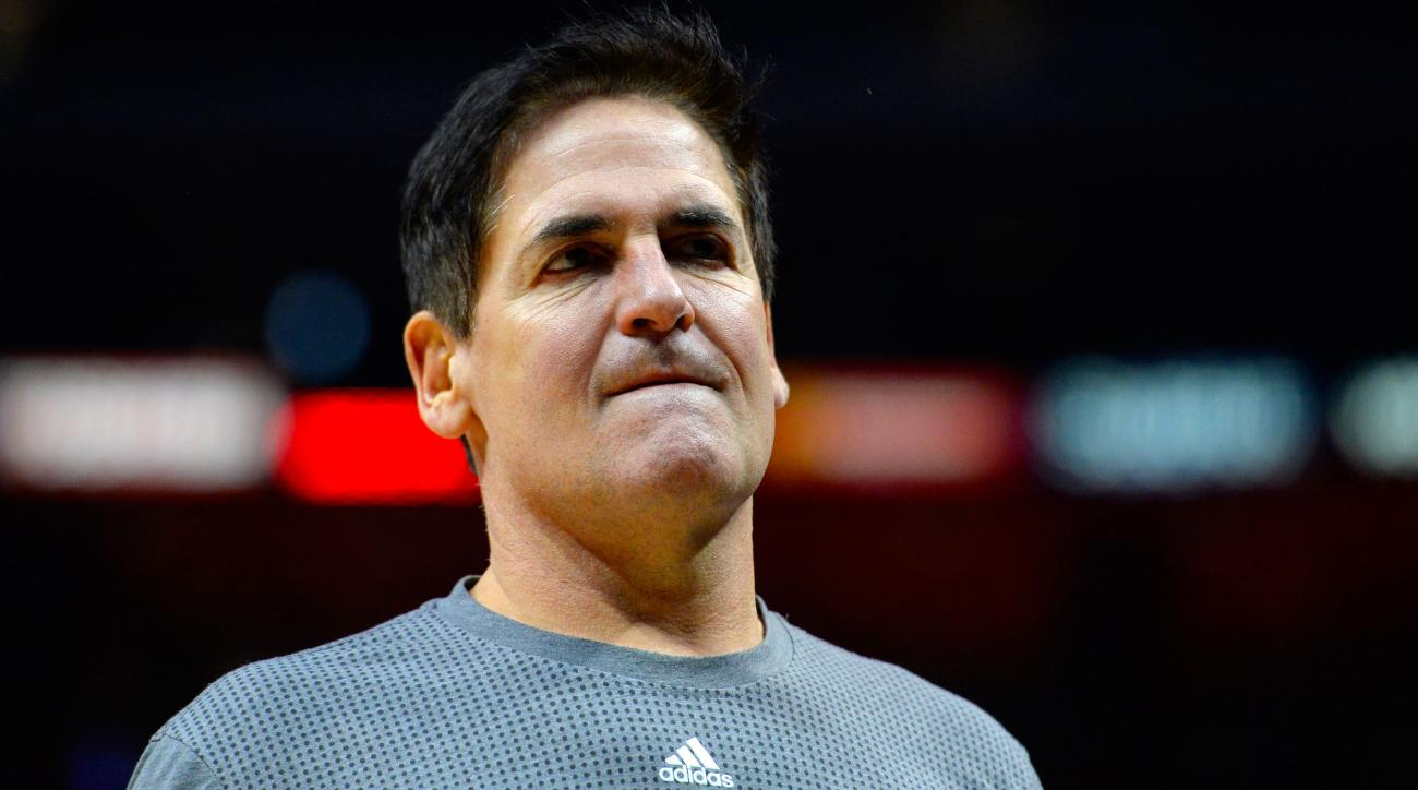 Mark Cuban takes dig at president with uniform No. 46