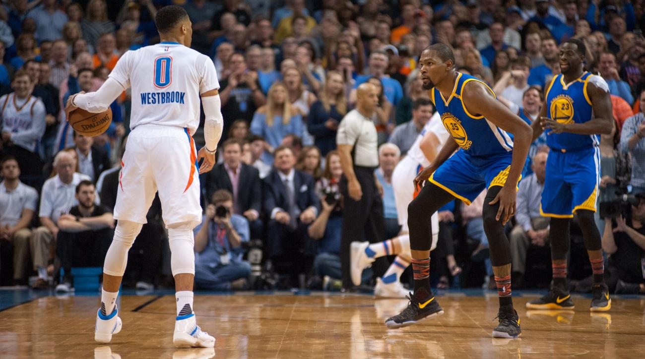 Kevin Durant and Russell Westbrook, Two Ships Passing in the Night