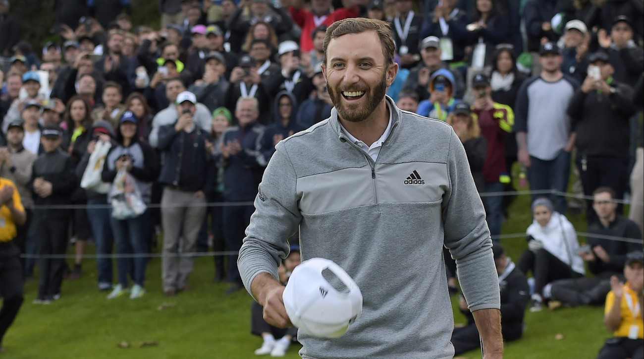 Dustin Johnson ascended to no. 1 in the world golf rankings for the first time in his career this week.