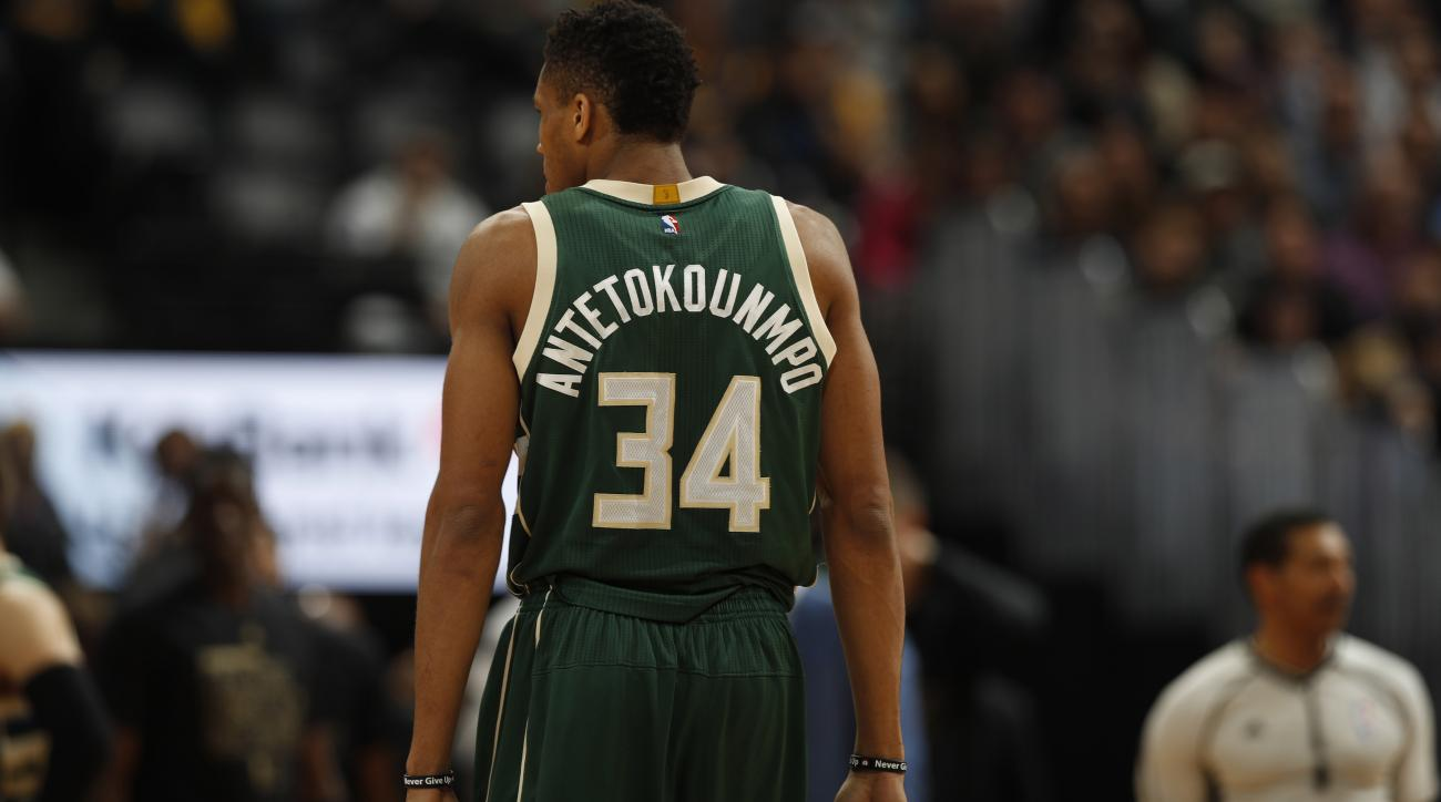 Giannis Antetokounmpo says his brother Alex will be better than him.