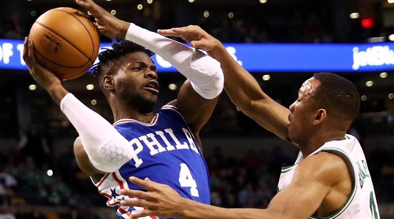 Sixers keep Jahlil Okafor at trade deadline, dealing the wrong center
