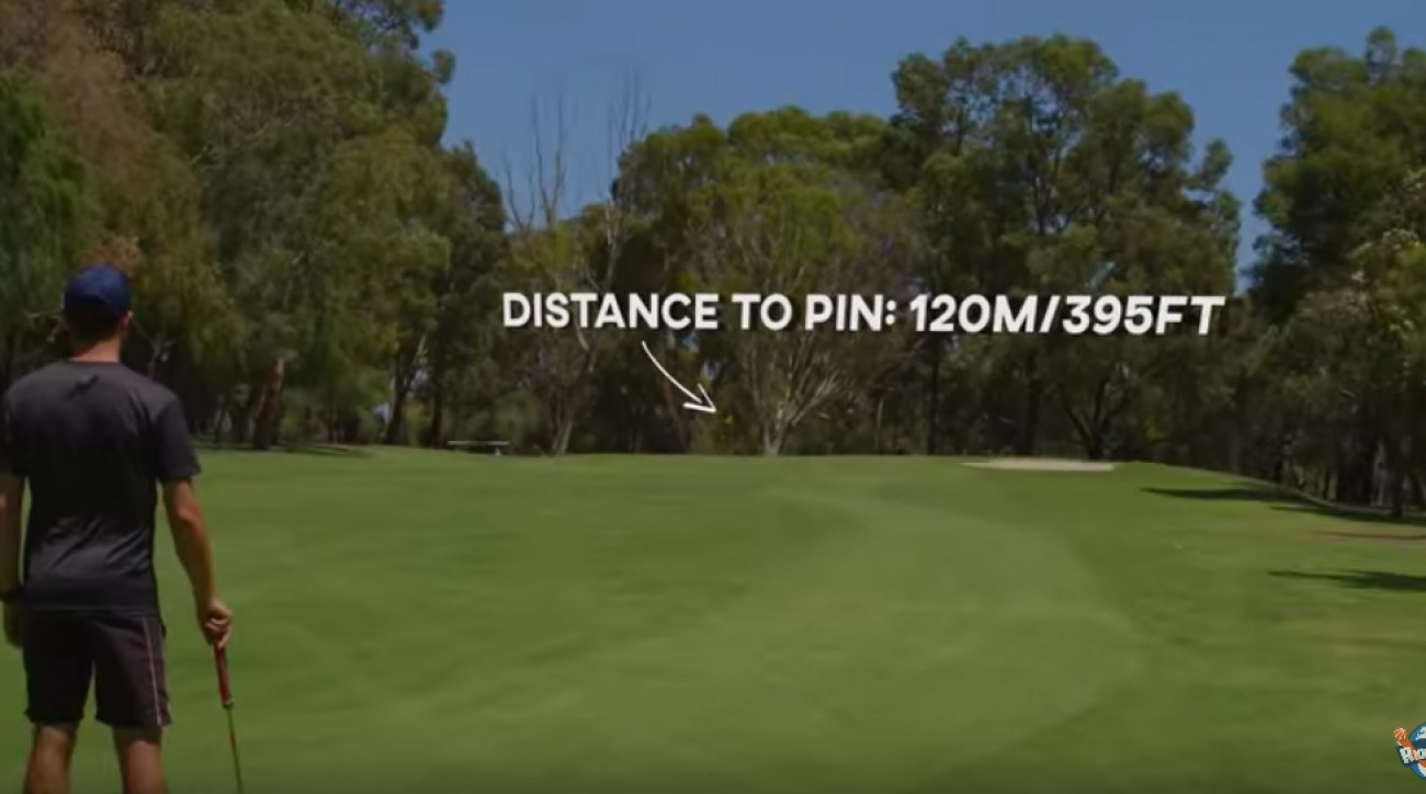 A new standard has been set in the world record books for longest putt made.