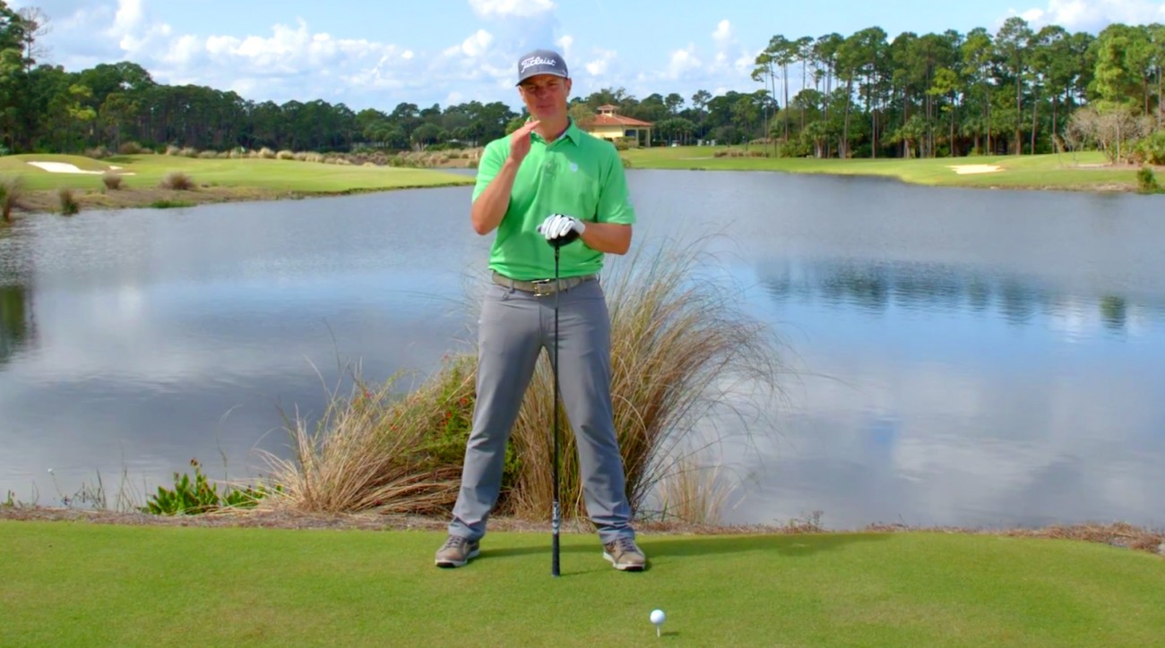 Top 100 Teacher Mark Blackburn has a tip to save you strokes.