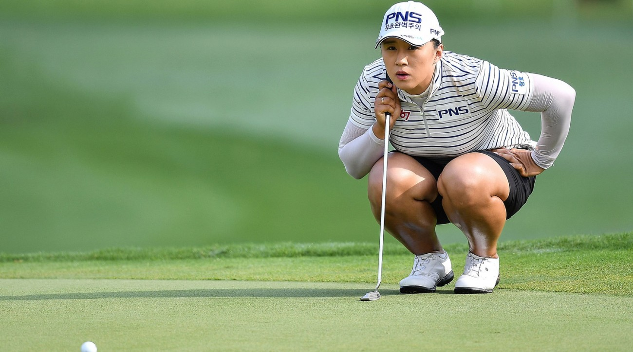 Amy Yang during the third round of the Honda LPGA Thailand