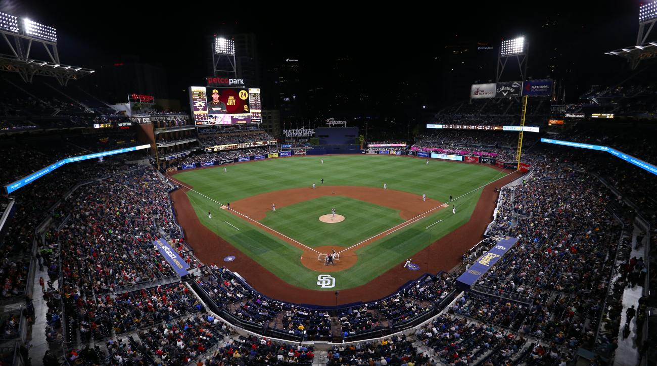Petco Park flooded: Padres stadium inundated (photo) | SI.com