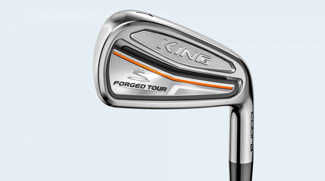 Cobra King Forged Tour irons.