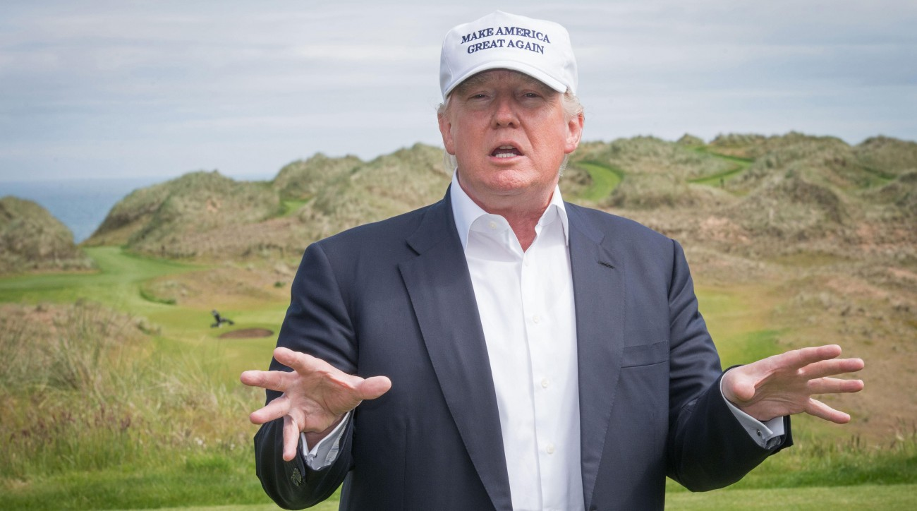 Donald Trump's golf portfolio includes 17 courses located around the world.