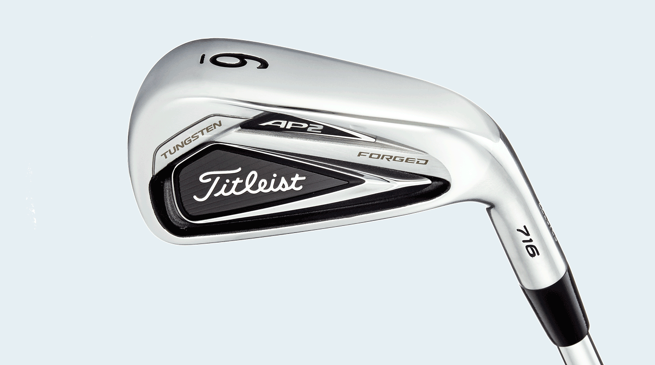 Titleist 716 AP2 irons.