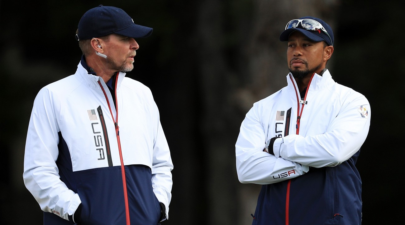Tiger Woods will serve as one of Steve Stricker's assistants at the Presidents Cup this fall.