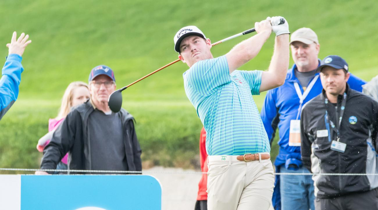 Grayson Murray at the AT&T Pebble Beach Pro-Am in February.