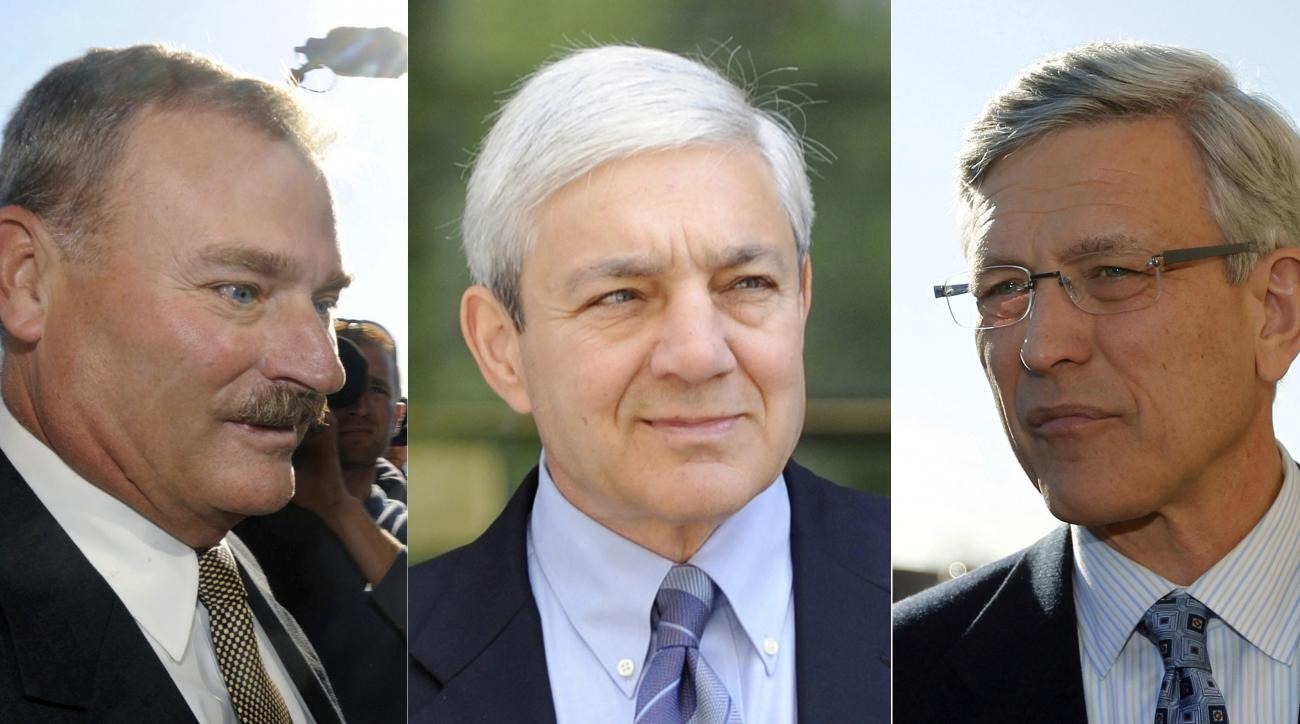 Ex-Penn State officials enter guilty pleas