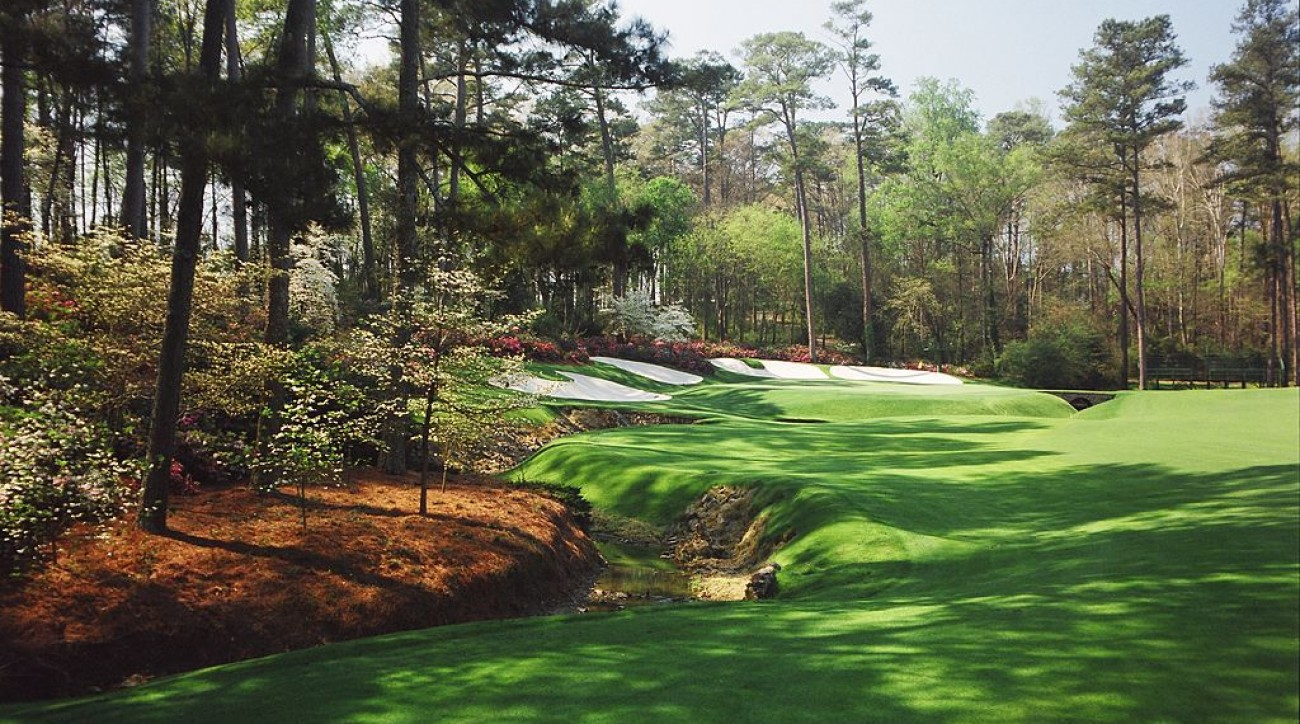 Here's how to get a glimpse of Augusta's legendary pines on a budget.