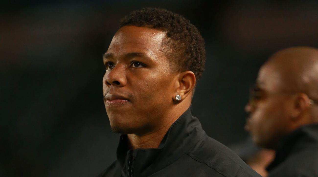 Ray Rice Hasn't Given Up On Continuing NFL Career