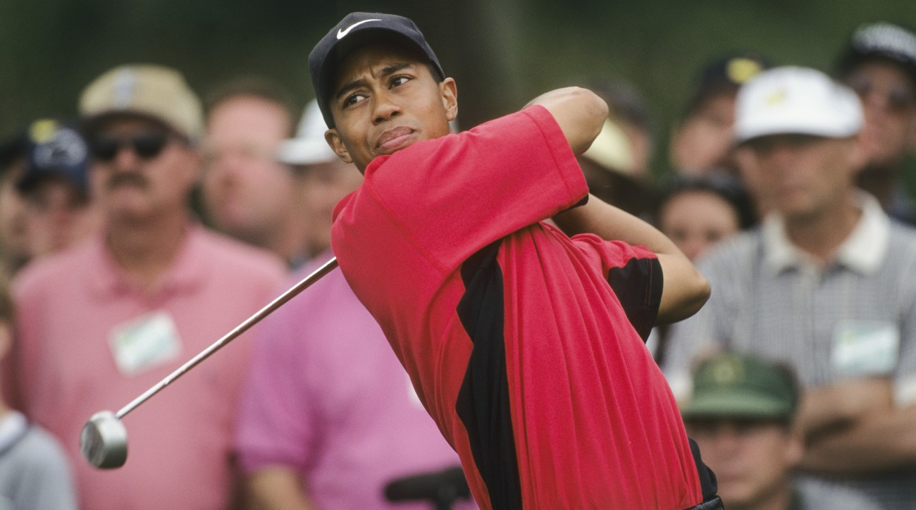 Tiger Woods's victory at the 1997 Masters is the focus of his new book with golf writer Lorne Rubenstein.