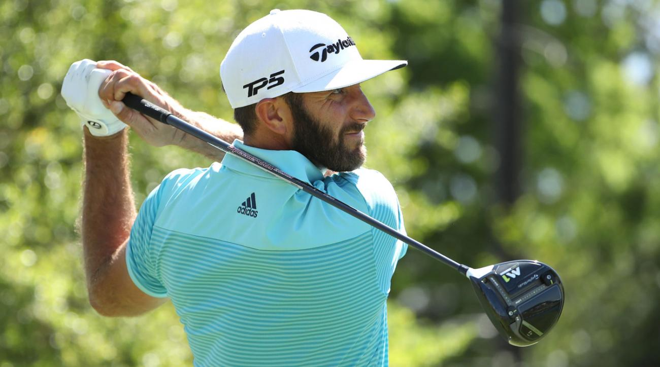 Dustin Johnson defeated Martin Kaymer on Thursday at the Match Play.