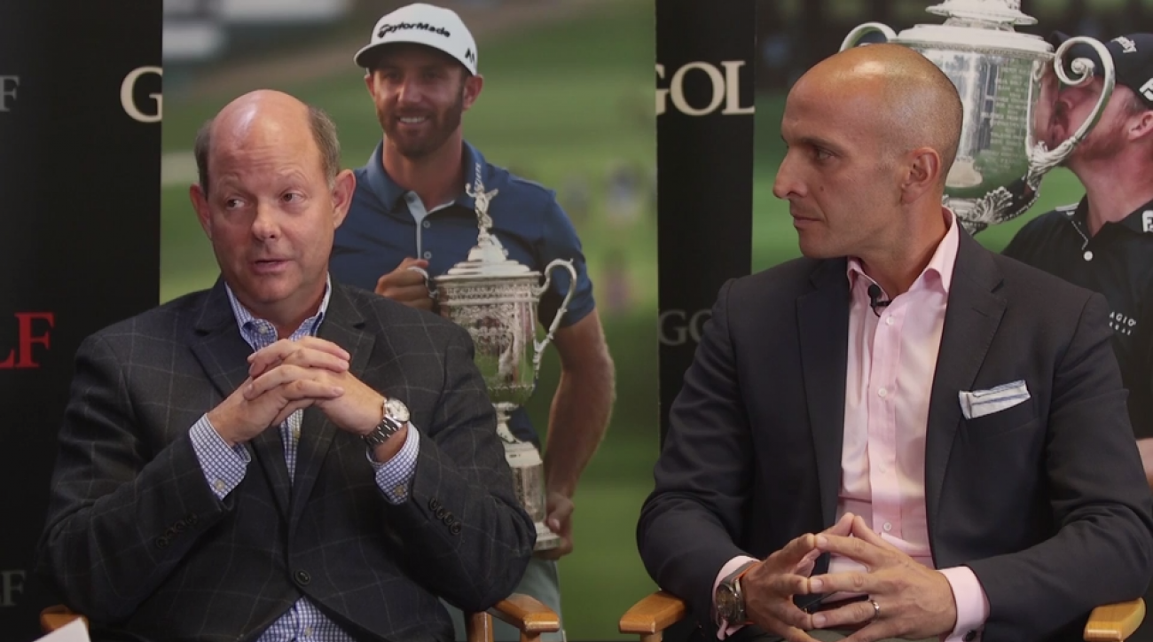 The USGA's Mike Davis and the PGA of America's Pete Bevacqua have high hopes for golf in 2017.