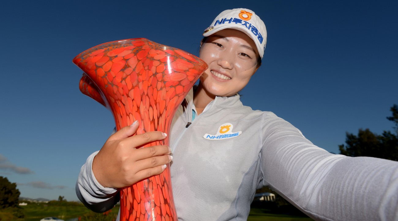 Mirim Lee's victory in Carlsbad jumped her to no. 14 in the world ranking.