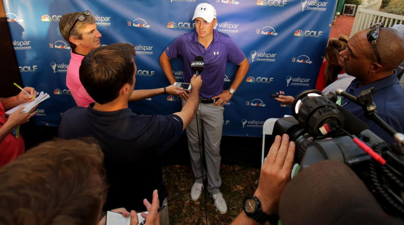 Jordan Spieth has shown uncommon grace in victory and defeat.