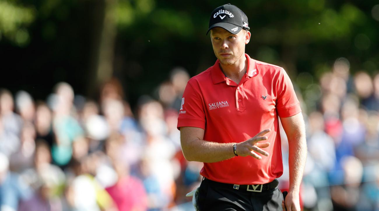 Danny Willett shot a 66 in round 1 of the 2016 BMW Championship.