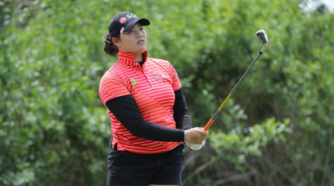 Ariya Jutanugarn shot a one-over 73 on Saturday.
