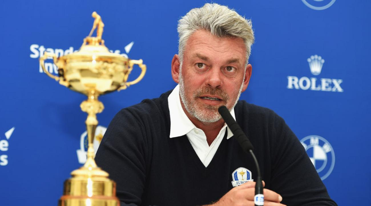 Darren Clarke will lead Team Europe into the 2016 Ryder Cup at Hazeltine.