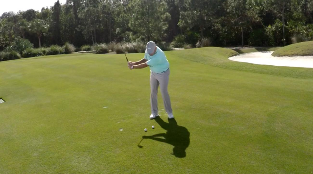 Let the clubhead release instead of drag for soft pitches that stop on a dime.