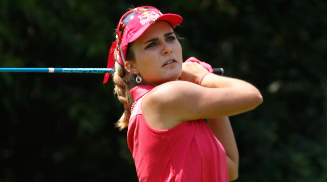 Lexi Thompson fired a bogey-free round on Saturday following some treatment for her ailing back.