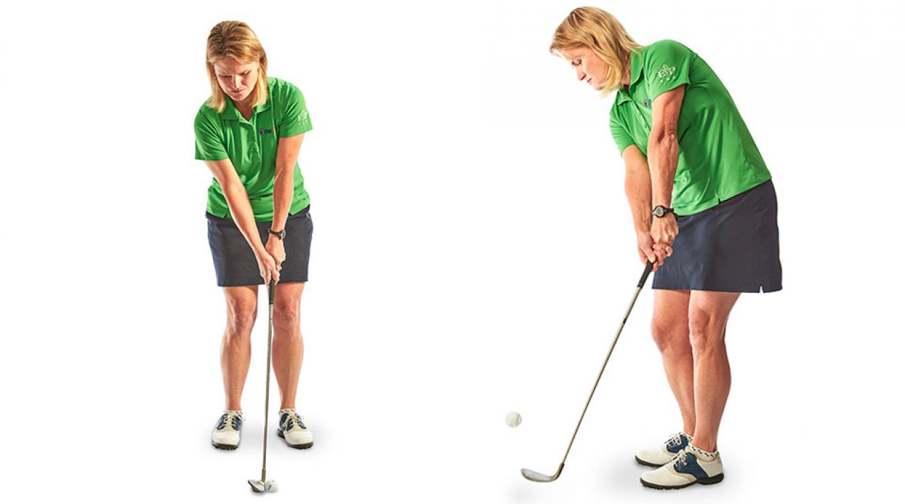 Get short approaches to bite the green for tap-in birdies and easy pars.