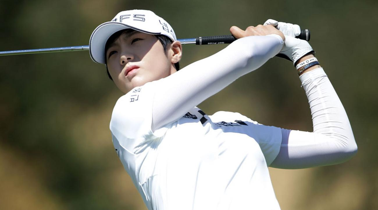 Sung Hyun Park, 22, made her LPGA debut in 2015.