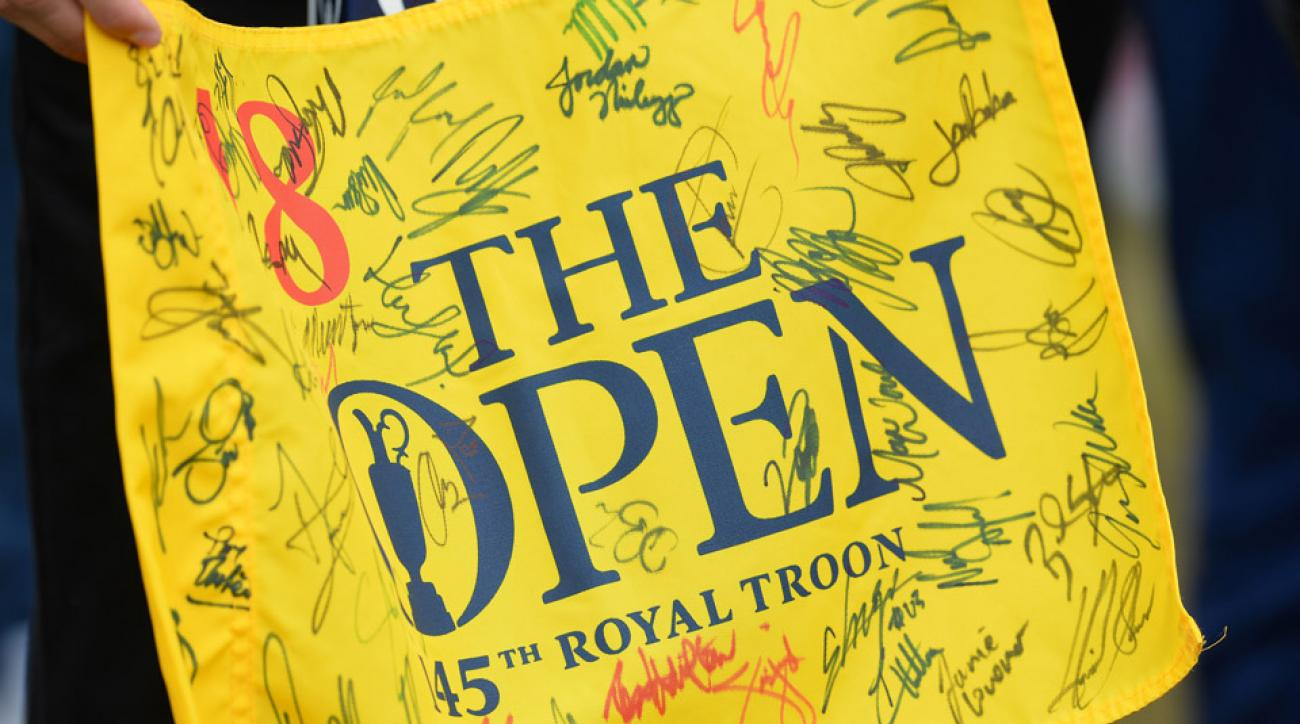The 2016 British Open is hosted at Royal Troon.