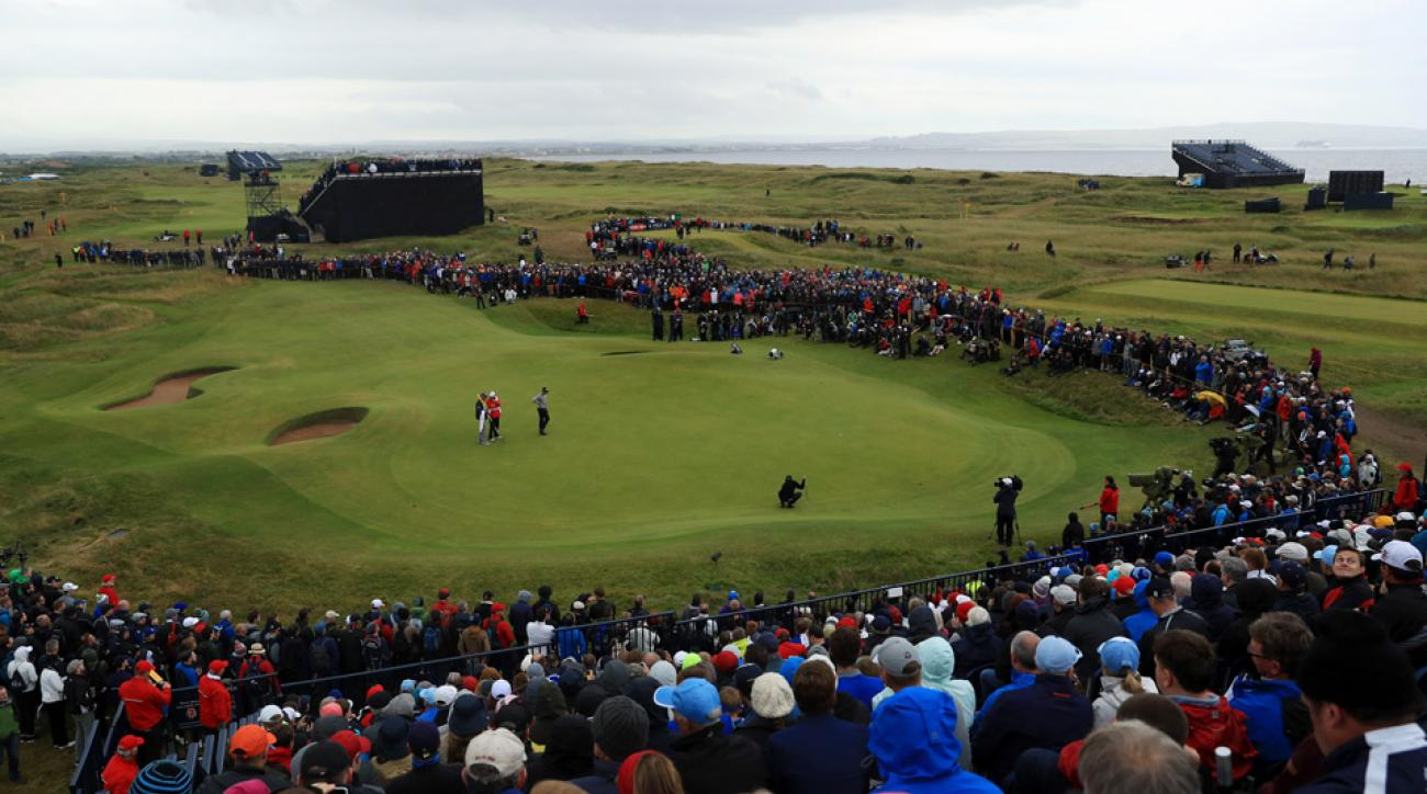 Weather conditions should be relatively calm during the final round of the 2016 British Open.