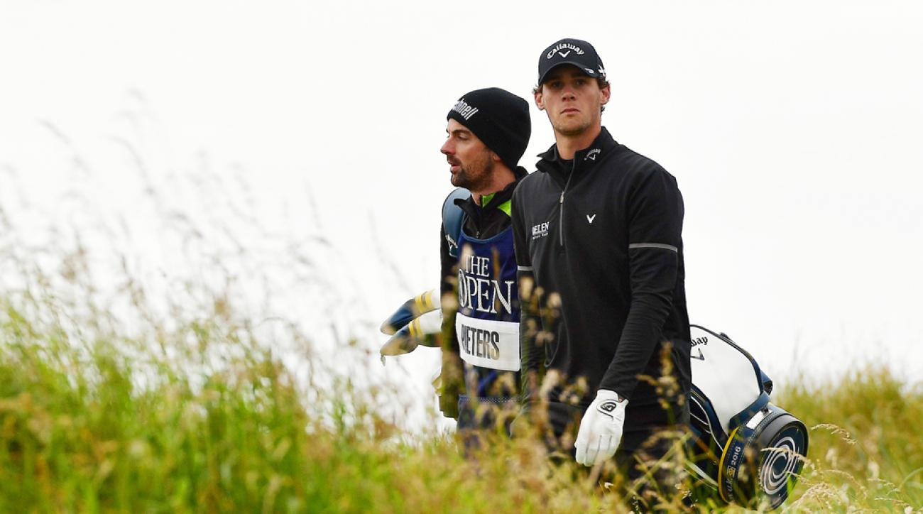 Thomas Pieters will be happy Sunday is the last time he'll have to play the 11th hole at Royal Troon for a long time.