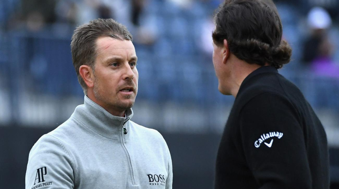Will Henrik Stenson and Phil Mickelson need extra holes to see who brings home the claret jug?