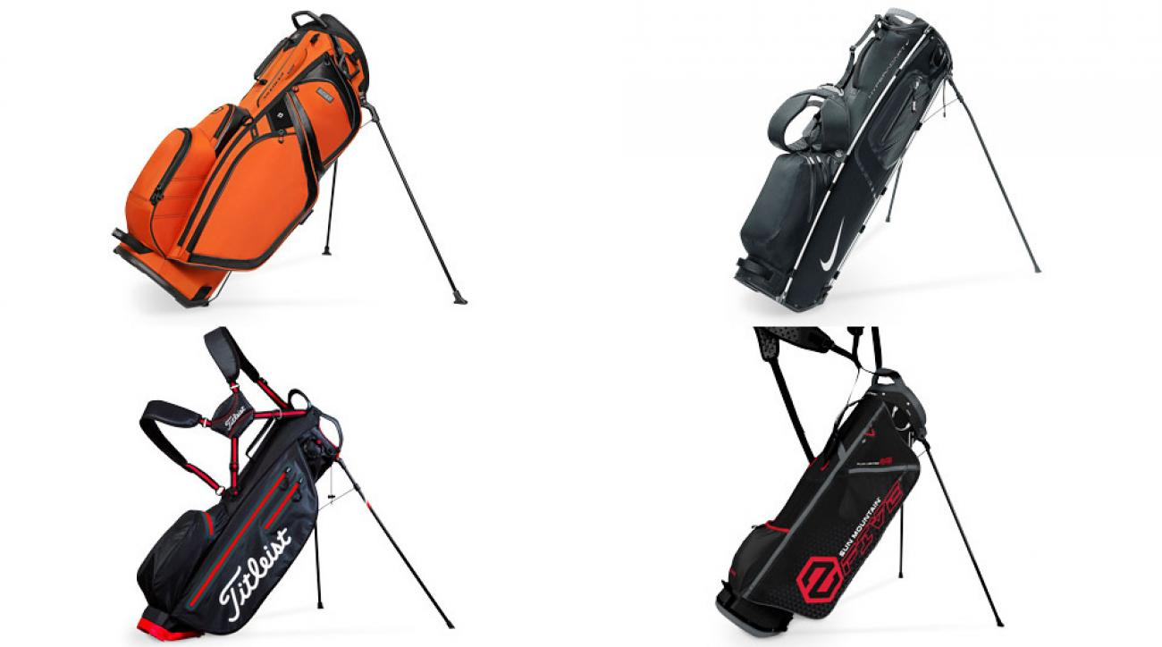 Golf bags have evolved over the years to make life easier on golfers.